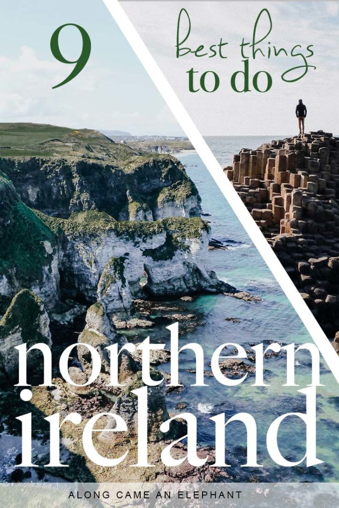 Planning a road trip in Northern Ireland? Here's an extraordinary 3 day Northern Ireland itinerary that includes the best Game of Thrones filming locations too! this Northern Ireland Travel Guide includes top places to visit like Carrick-a-Rede Rope Bridge, the Dark Hedges, Dunluce Castle, Mussenden Temple and the Giant's Causeway amongst others.  #travel #northernireland