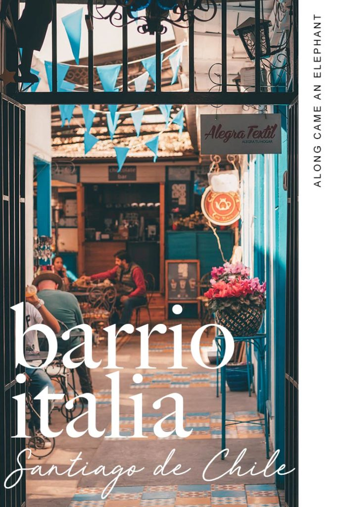Traveling to Santiago de Chile? Here's a perfect travel guide to explore Santiago's historic neighbourhood: Barrio Italia. Features how to get there, what to see, where to shop en where to eat in Barrio Italia.