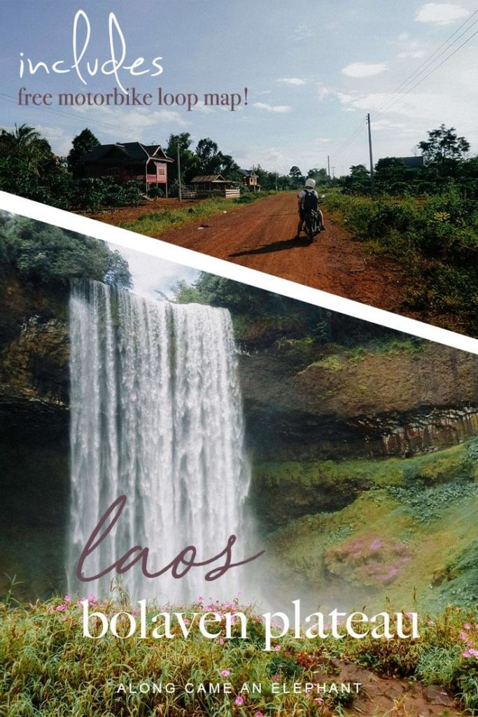 Southern Laos is known for its vast forests and numerous waterfalls and this 4 day Bolaven Plateau itinerary will guide you past the best of them. This Laos travel guide focusses on the Bolaven Plateau and offers a detailed 4 day motorbike itinerary!