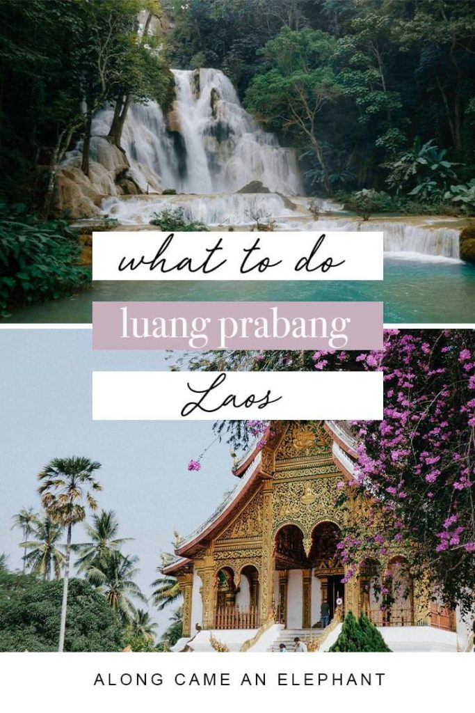 Best things to do in Luang Prabang, Laos. Our complete Luang Prabang travel guide includes the major attractions like the Royal palace, Kuang Si waterfalls, Mount Phousi, Pak Ou Caves and where to eat the best Luang Prabang street food!