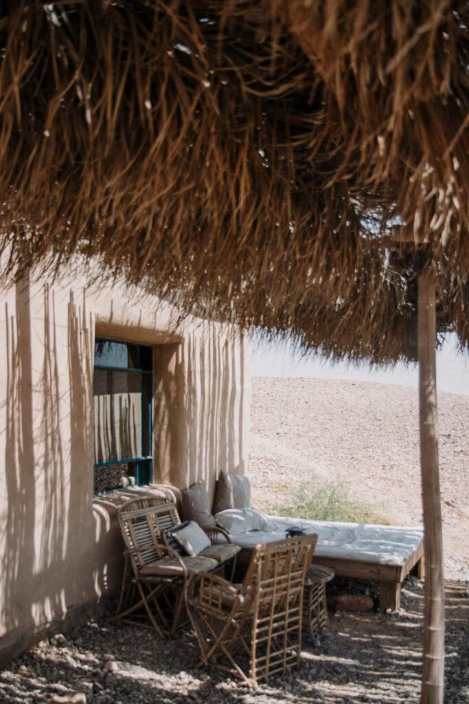 Luxury desert cabins in the Negev Desert