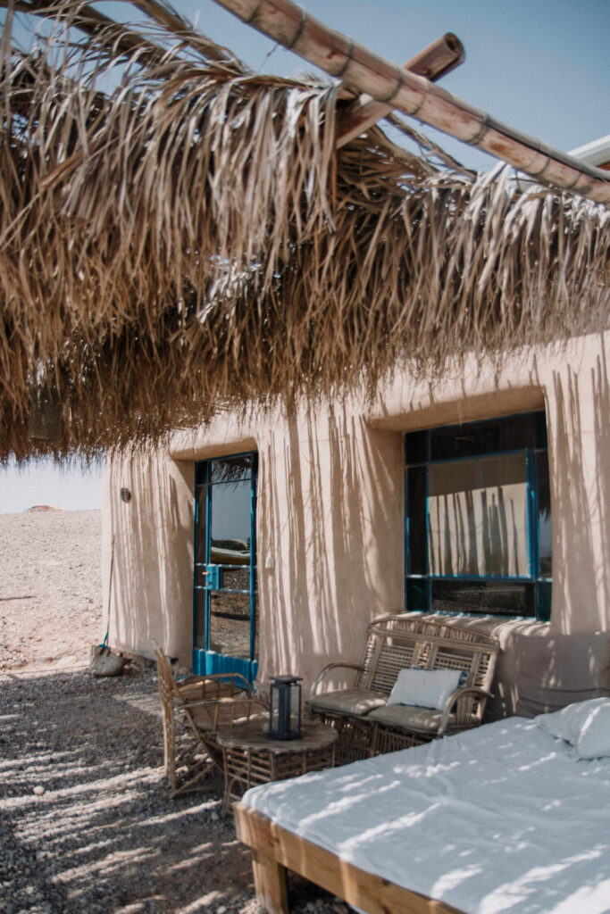 Our cabin in the Negev desert