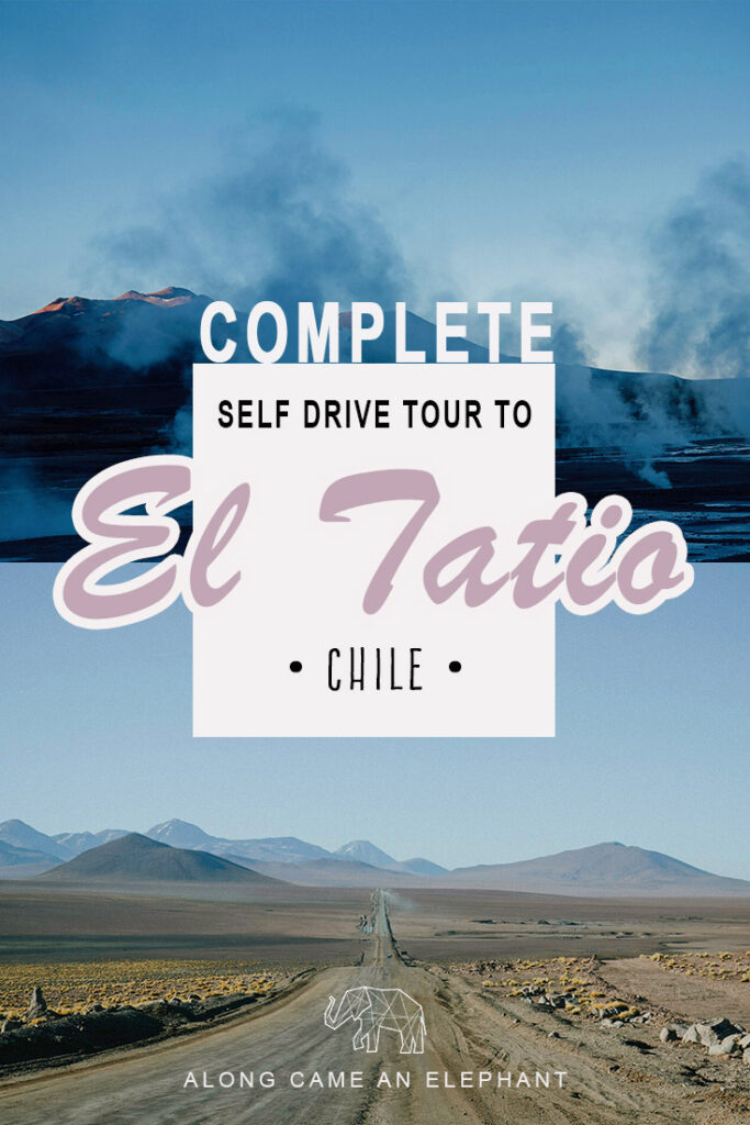 This post contains our detailed instructions on how to self drive Geyser del Tatio, one of the best things to do in San Pedro de Atacama! Safe $ and avoid an organized tour by driving up to the El Tatio Geysers in Chile yourself! #travel #Chile #southamerica #selfdrive #roadtrip