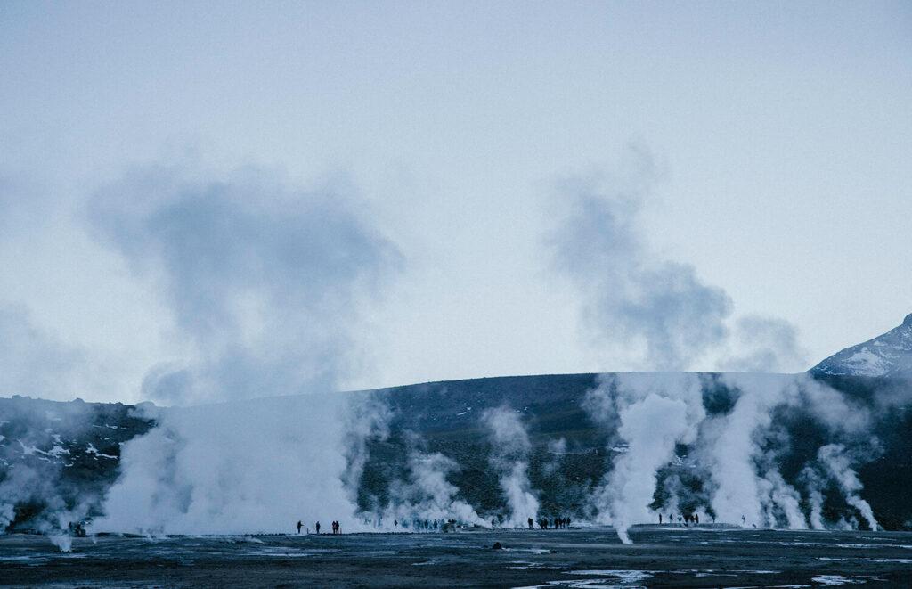 Self drive geyser del Tatio
