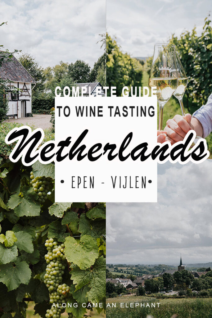 The ideal mini road trop through the extreme south of the Netherlands for a romantic short getaway of wine tasting. Holland wine is currently reviving and there are plenty of tasting opportunities near Maastricht. Check out our weekend itinerary with the best vineyards to visit for a tasting! #travel #winetasting #thenetherlands