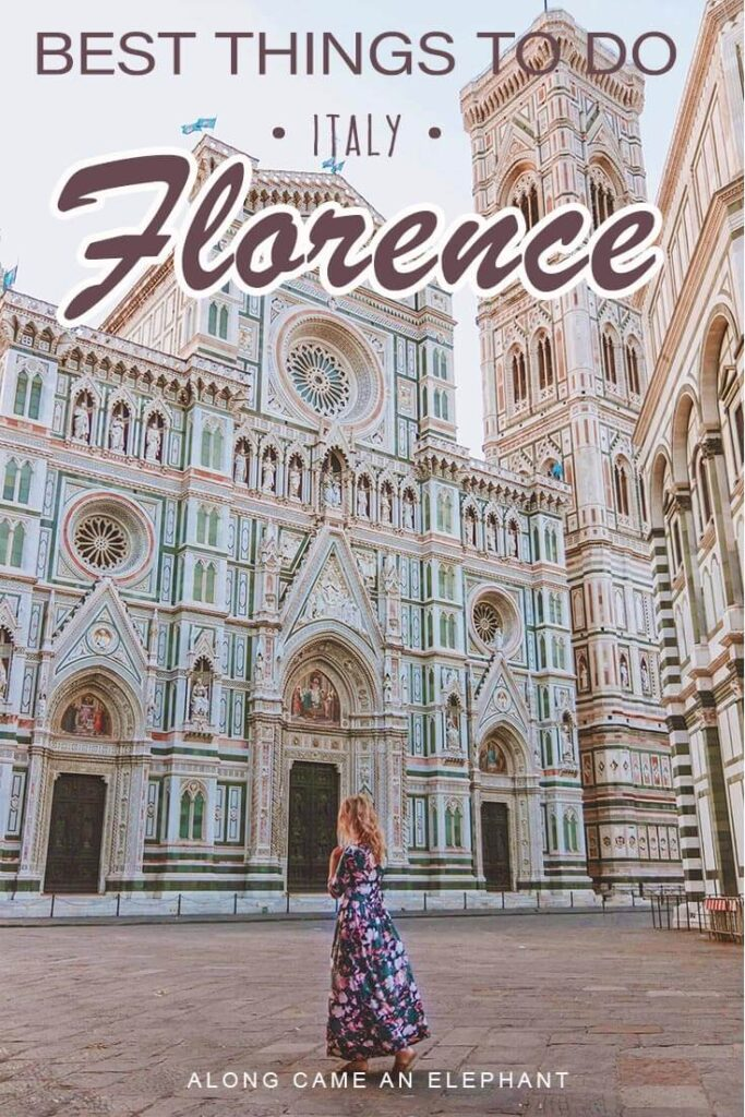 Our guide to the absolute Best Things To Do in Florence! Includes Florence photos spots, where to eat and what to do. #florence #firenze #italy #italia #italytravel #duomo #cathedral #travel #traveltips #travelguide