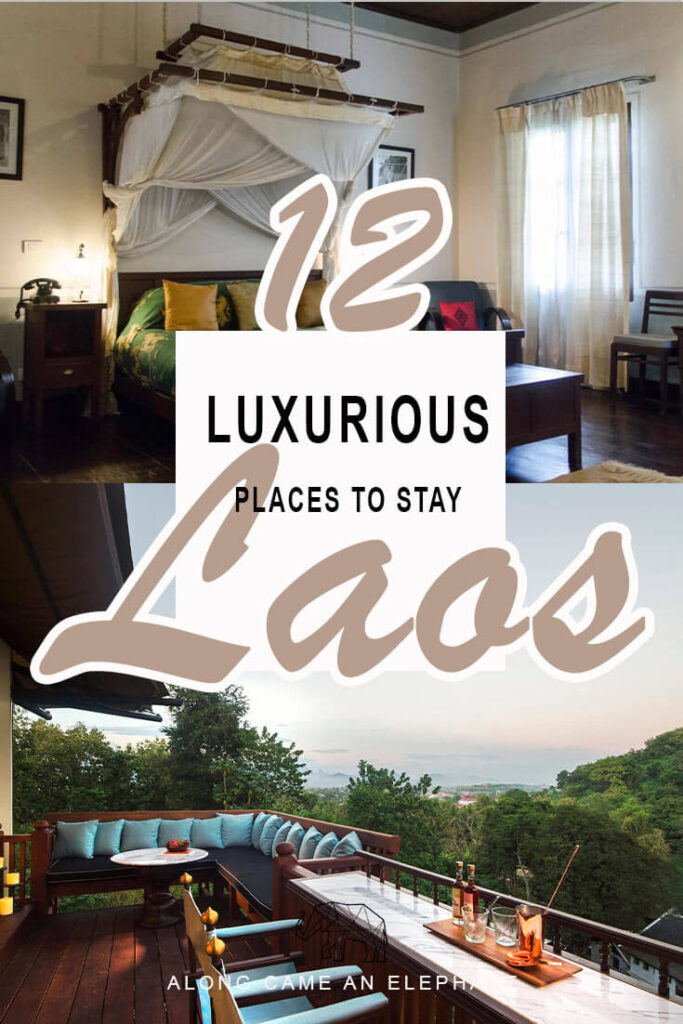 Laos travel doesn't have to be about shabby hostels, Laos hosts some incredibly beautiful hotels to spark your wanderlust. Here are our 12 most precious hideaways in Laos!  #hotel #travel #laos #luangprabang #asia #wanderlust