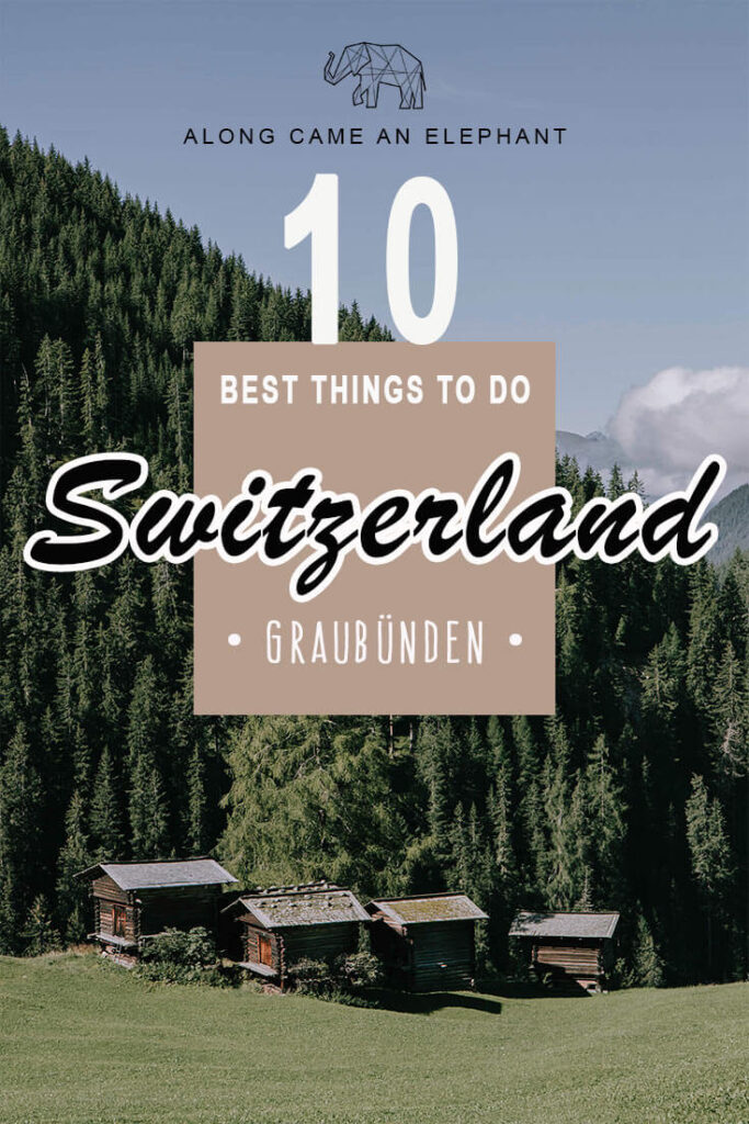 Switzerland is an ideal country for a gorgeous road trip through nature. Summertime is perfect to explore Graubünden on a road trip through Switzerland. Check out our complete Switzerland travel guide on the best things to do in Graubünden.  #travel #hiking #wanderlust #switzerland #nature