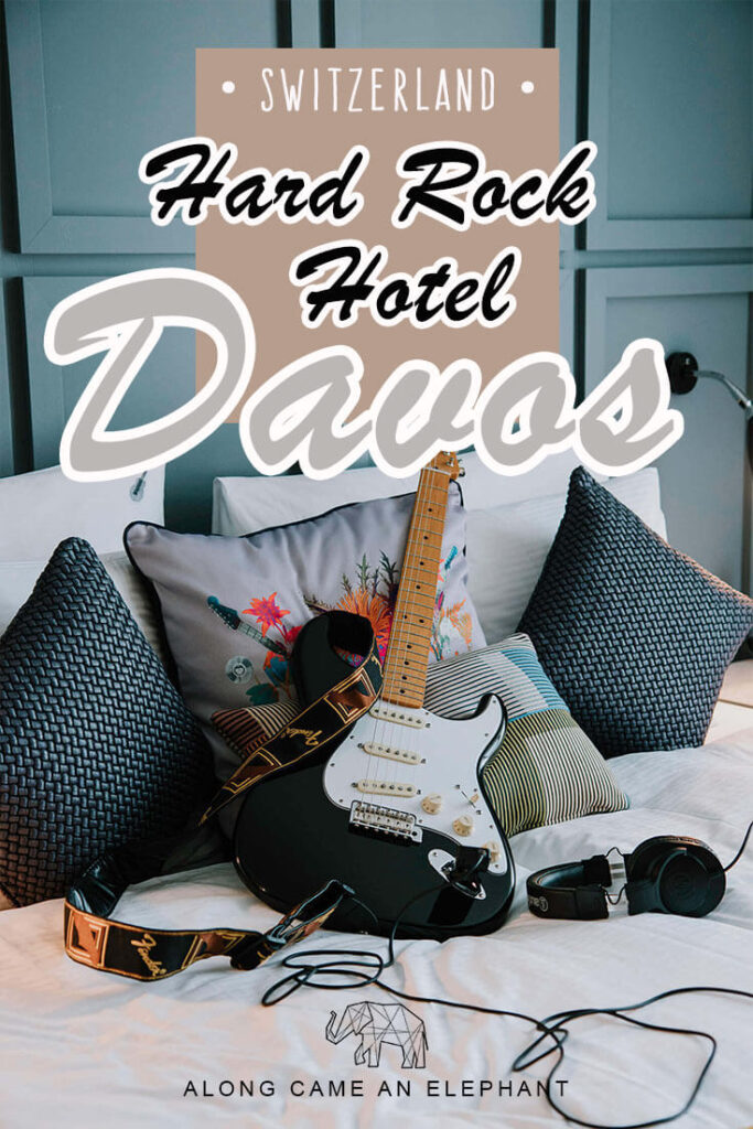 A unique stay in the Swiss Mountains in Davos! A review of our stay in the Rock Star Suite at the Hard Rock Hotel Davos, a luxurious stay in Switzerland!  #hardrockhotel #hotel #switzerland #travel #luxury