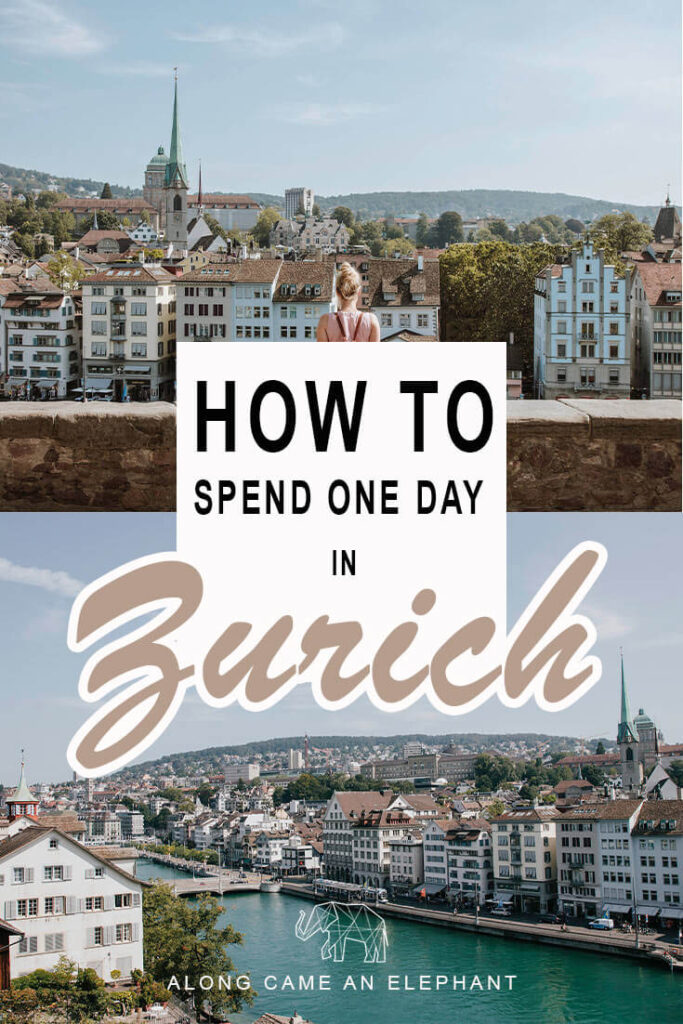How to spend 24 hours in Zürich, Switzerland. One day in Zurich I surely enough to enjoy this captivating city. Includes Zurich Lake and the hipster Zurich West neighbourhood. Our complete Zurich Travel Guide for when you're short on time!  #switzerland #zurich #zurichlake #travel #europe #wanderlust