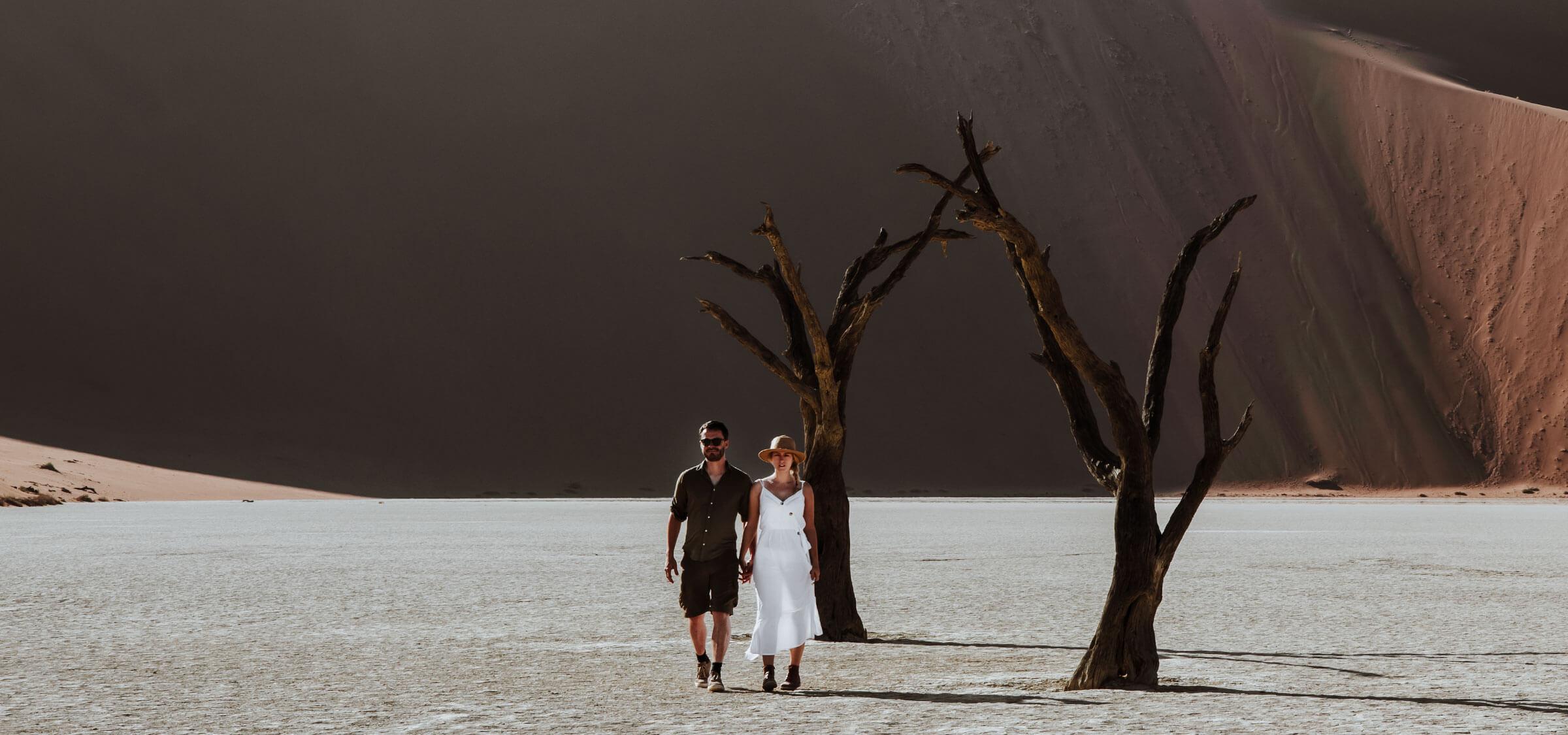 Seeking adventure in Namibia