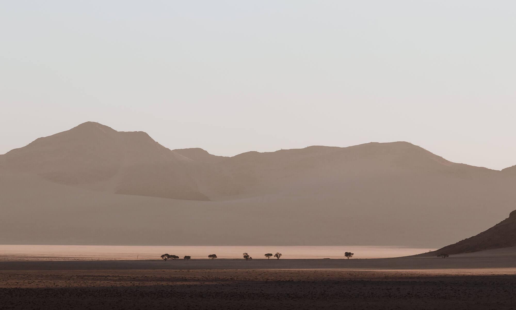The emptiness of the Kanaan Naankuse Wildlife Sanctuary