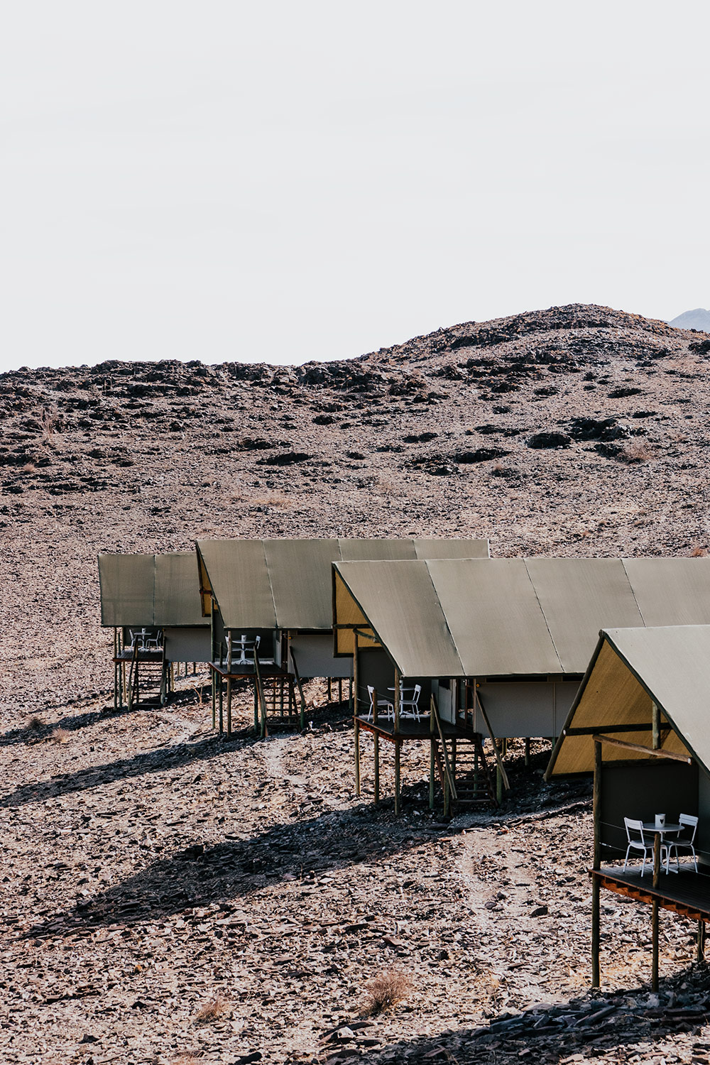 Sustainalble tourism in Namibia: eco accommodation in Southern Namibia