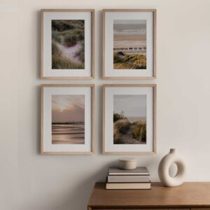 Rustic Beach photographic print box set