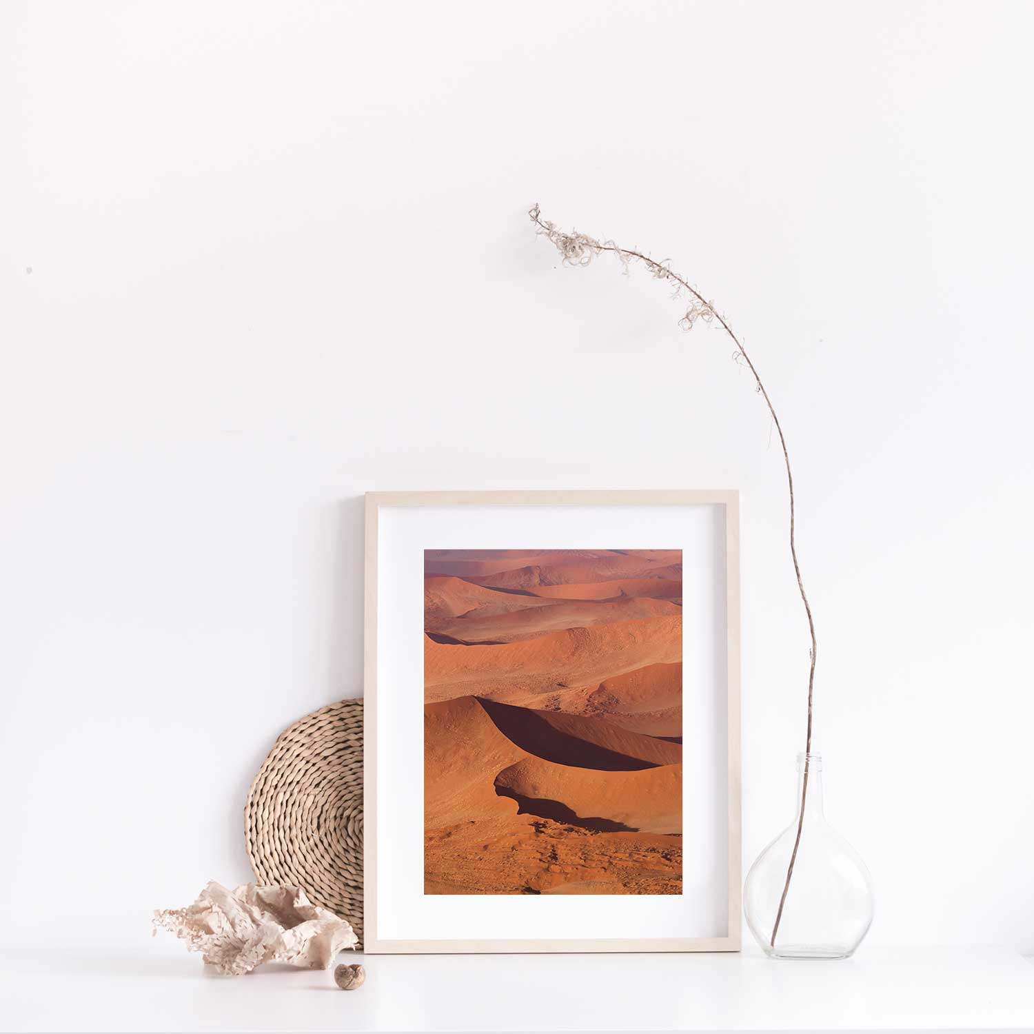 Abstract Dunes print with Gift Box