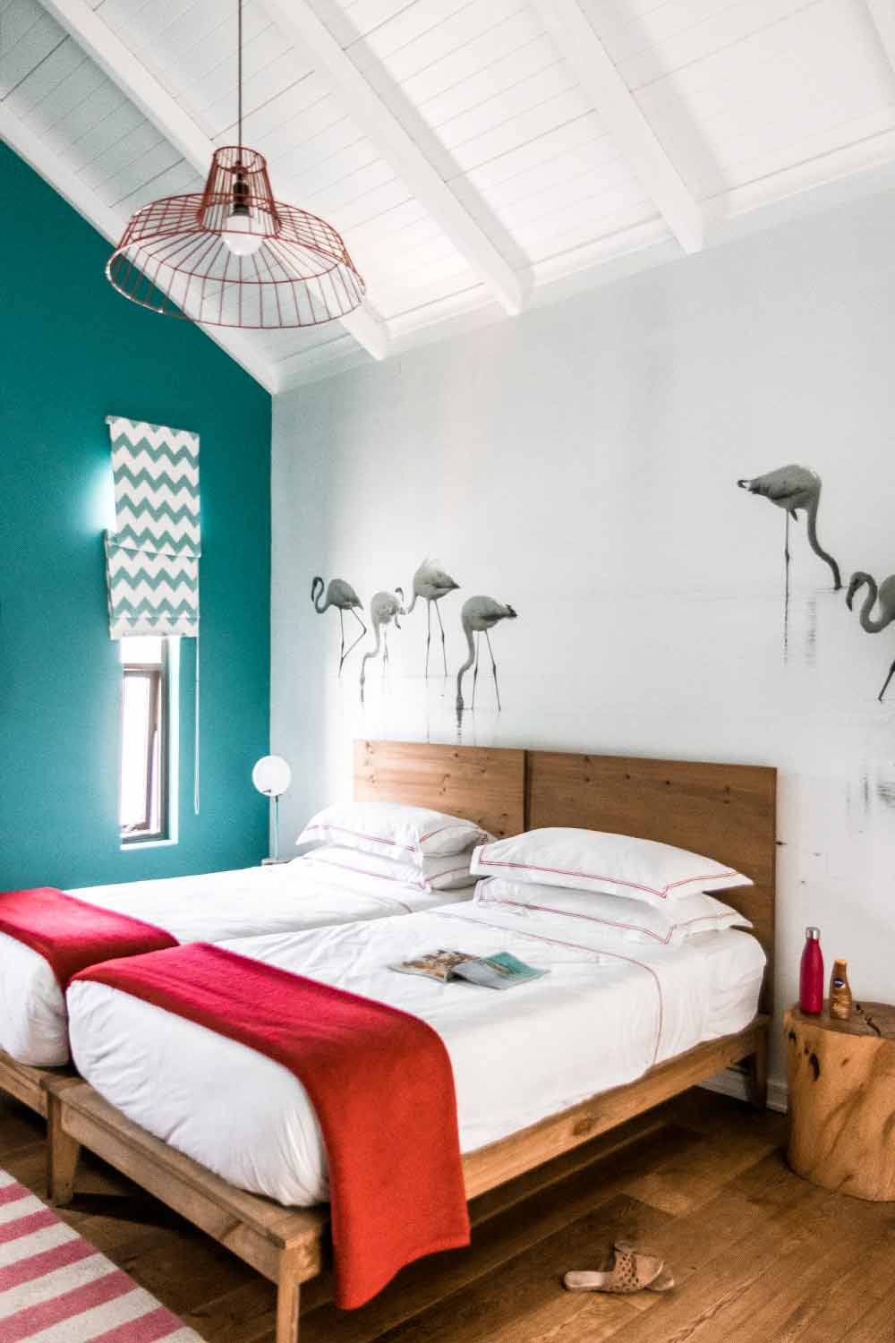 Colorful rooms at The Delight Swakopmund, one of the best places to stay in Swakopmund