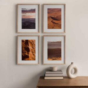 Terracotta Dunes gallery print set