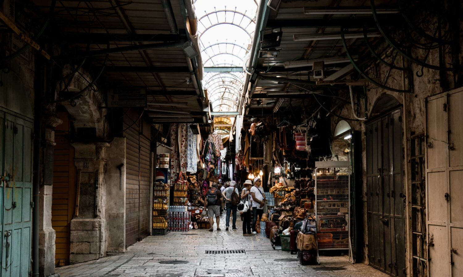 Arab Market in the Muslim Quarter, a must stop on any Jerusalem itinerary