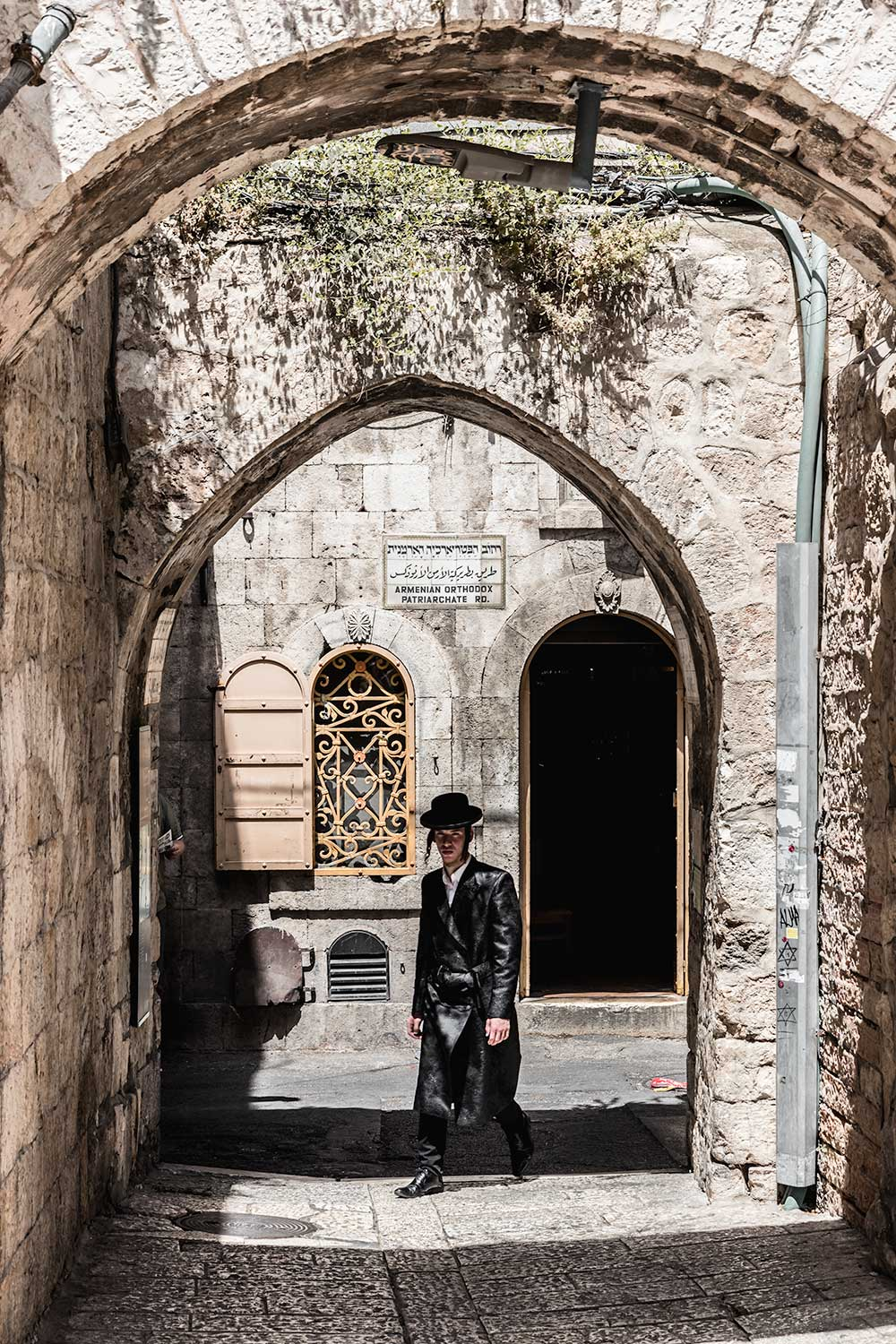 Orthodox Jews in the Old City of Jerusalem on our two day itinerary
