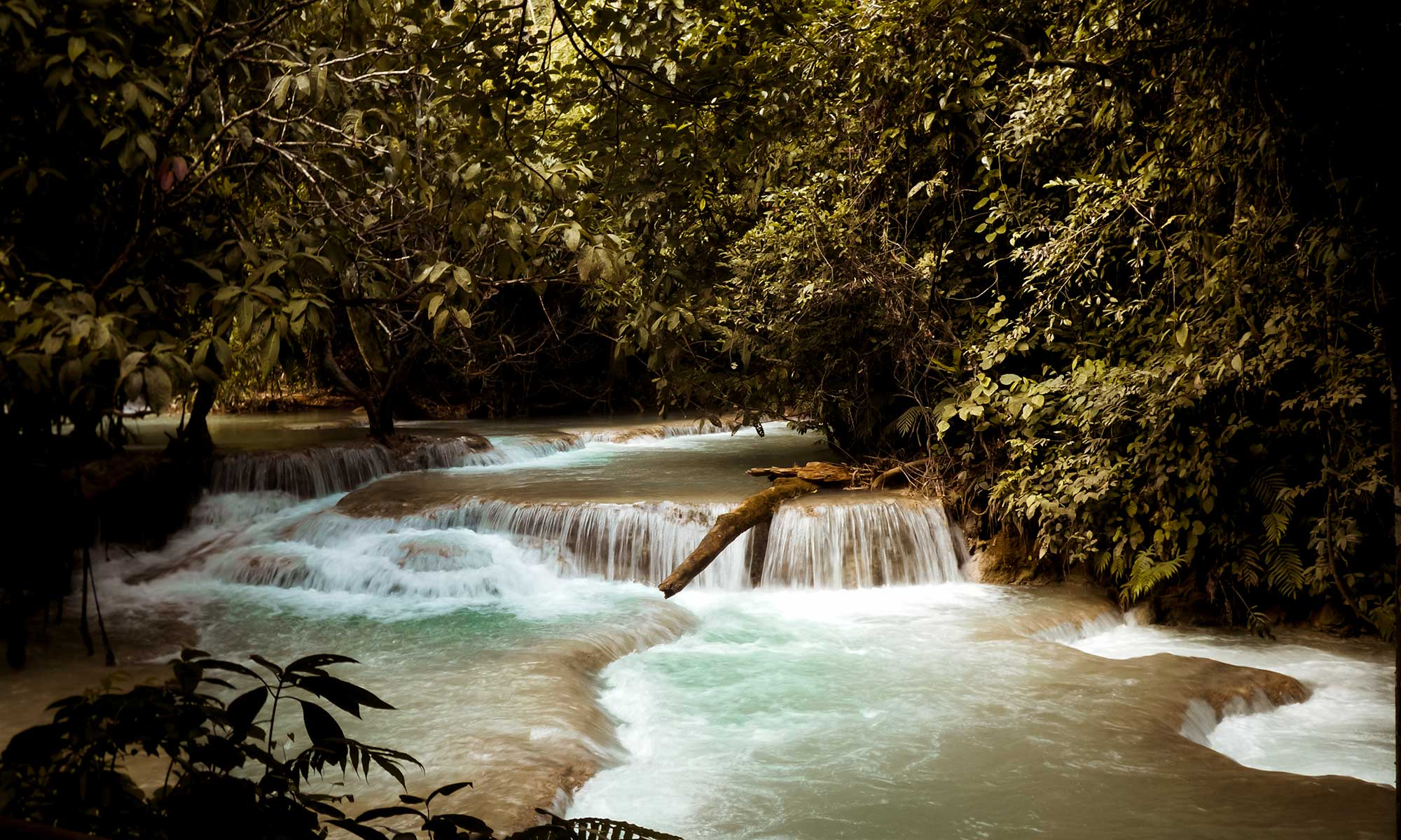Kuang Si Falls, one the most beautiful things to see in Laos