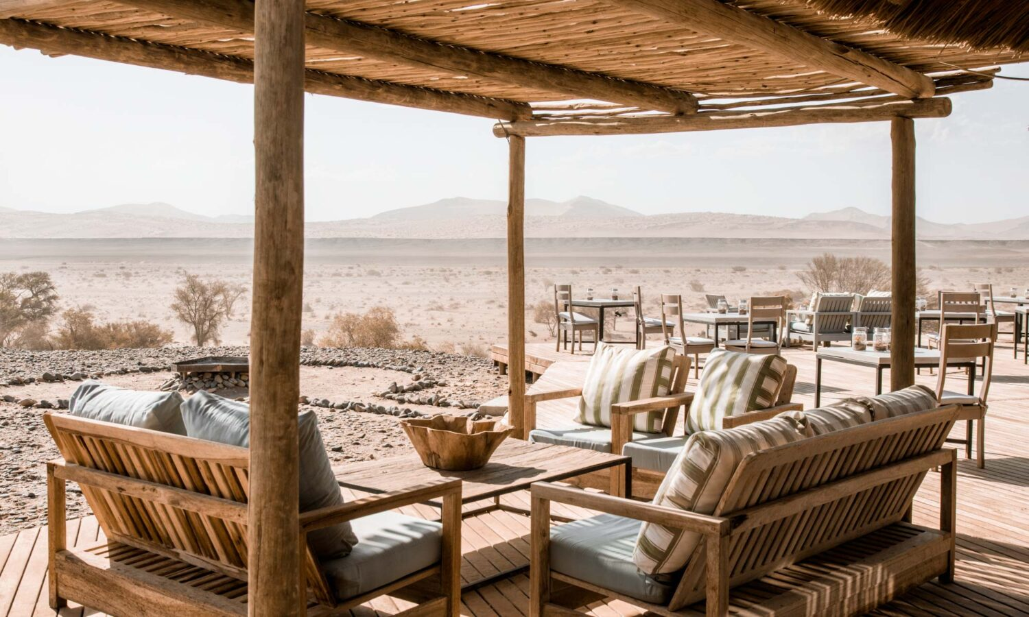 Where to stay in Sossusvlei: experiencing desert immersion at Kulala Desert Lodge