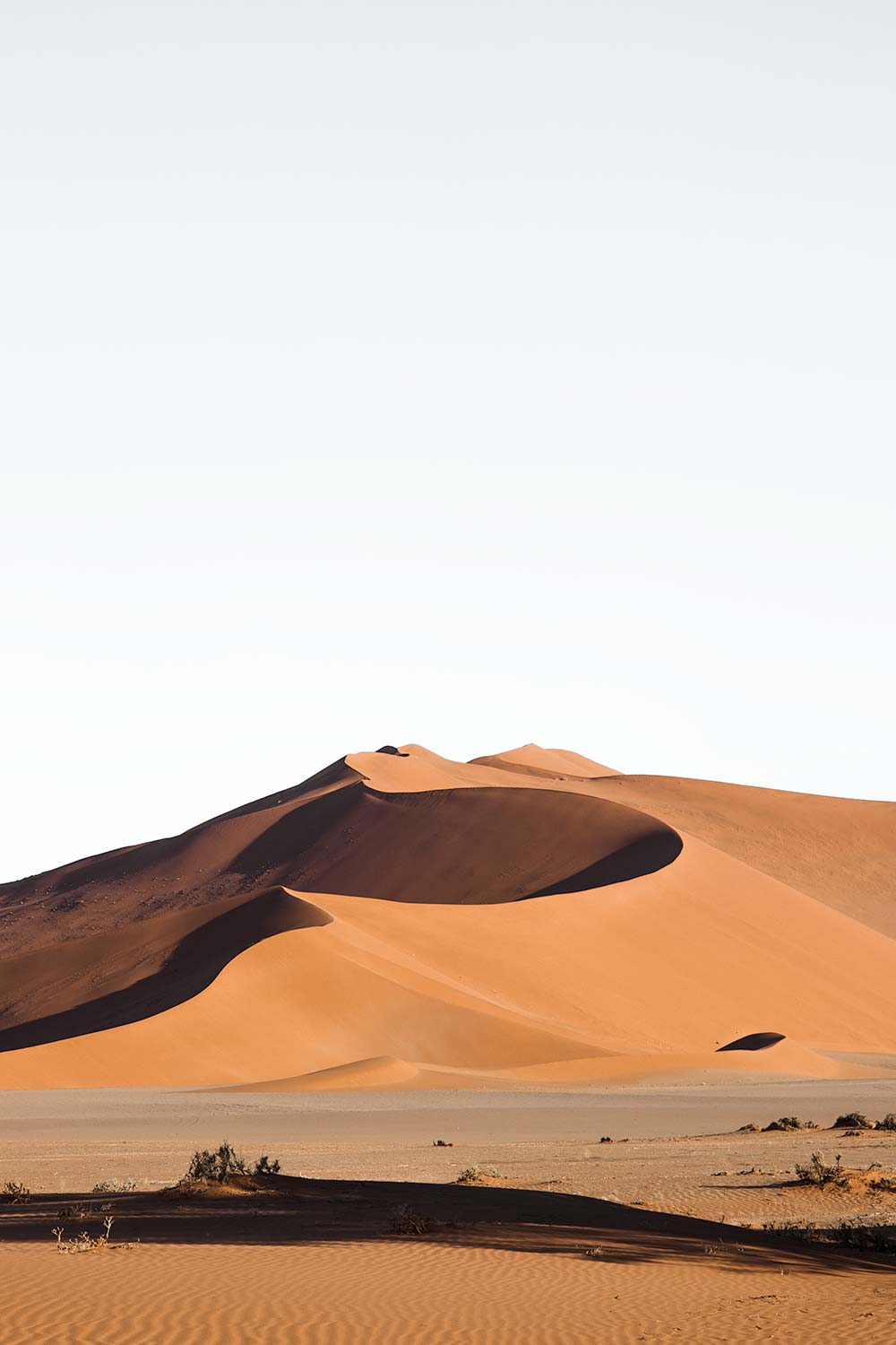 Big Momma dune is the largest dune in the Sossusvlei proximity