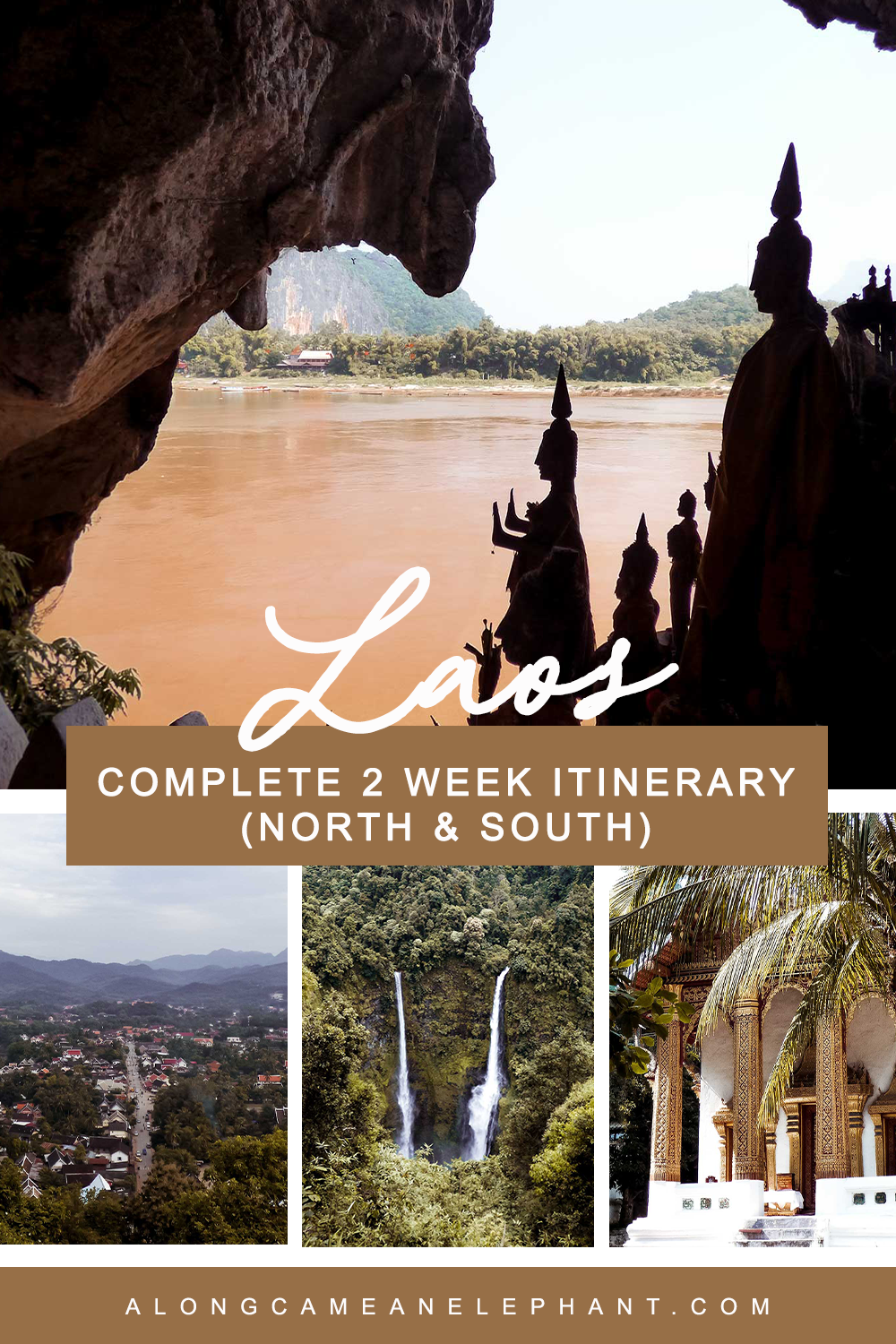 This Laos itinerary shows you all the Laos highlights: Luang Prabang, Vang Vieng, Vientiane, the Bolaven Plateau and the 4000 isles. This Laos travel guide shows you how to visit Laos in 2 weeks.  #laos #laositinerary #laostravel #2weekslaos
